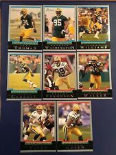 2004 & 2005 Bowman GREEN BAY PACKERS Complete Team Set Lot 17 AARON RODGERS RC