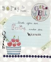 Sorry To Hear Paper Salad Greeting Card Lovely Greetings Cards Blank Inside