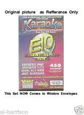 Chartbuster Karaoke Essentials - E10  CD+G 25 DISC 450 SONGS SET / $89 SALE