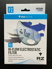 3-Pack RZ Mask F2 High Flow Filter Replacements - MEDIUM- NEW Fits M1 M2 M2.5