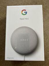 Google Nest Mini (2nd Generation) Smart Speaker - BRAND NEW IN BOX) White