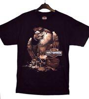 Harley Davidson Men's Grease Eagle HarleyWorld Chesterfield Dealer T-Shirt