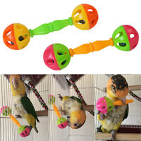HB- Pet Parrot Ball Toy Bird Hollow Bell For Parakeet Cockatiel Chew Cage Toys
