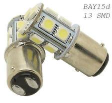Weiß * 2x BAY15d P21W 13 SMD Rücklicht Bremslicht Lampe KFZ 12V PKW Birne