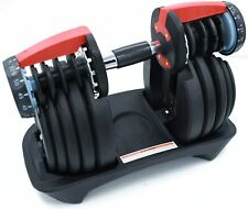 Adjustable Dumbbells Set - Home Gym Workout | 1 Pair Of 50 Or 90 LB Weights