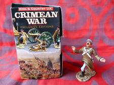 King & Country UK - Exclusive édition - Crimean war - Russe sabré de dos CRW10