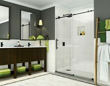 Aston Coraline 48x75 Oil Rubbed Bronze Sliding Shower Door SDR984EZ-ORB-48-10
