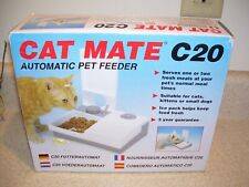 New listing Pet Mate Cat Mate C20 Automatic Wet/Dry Pet Feeder for Cats and Dogs 1447