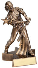 Softball (Female) Superstar Resin Trophy - Engraved Free Speedy Shipping 6.5""