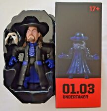 Loot Crate WWE Wrestling Sammelfiguren / Undertaker ca.12 cm groß mit Ring-Base