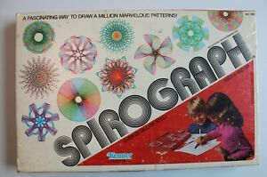 Vintage 1979 Kenner Spirograph # 14210 Incomplete but FUN Used