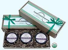 Relaxing Bath Salts | Shea Body Balm | Sugar Scrub (USDA Organic) Lavender