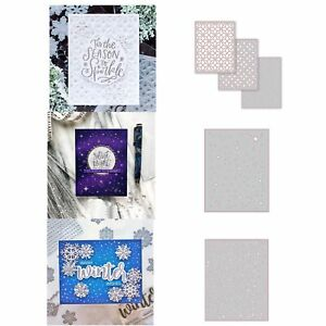 Pattern Shading Metal Cutting Dies Stencil Scrapbooking Album Embossing DIY