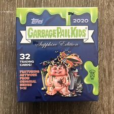 2020 Topps Garbage Pail Kids Sapphire Edition sealed hobby box 32 cards