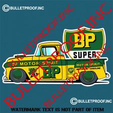 BP PETROLIANA Decal Sticker Vintage Retro Pump Americana Man Cave Stickers