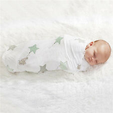 100% Bamboo fiber baby Newborn Swaddle Blanket Infant Single layer baby towel