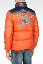 new Armani Jeans Logo Puffer 2-in-1 Jacket  Sz. L
