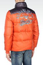 new Armani Jeans Logo Puffer 2-in-1 Jacket  Sz. L
