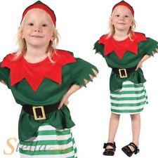 ac691192468b5 bébé fille Père Noël Helper Père Déguisement noël Lutin costume déguisement