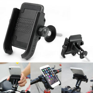 Universal Aluminum Bicycle Bike MTB Handlebar Stem Cell Phone Holder Mount  A!