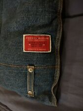 "Vintage Tommy Hilfiger  American Denim Queen Comforter Bedspread 90"" x 90"""
