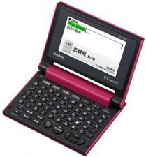 CASIO XD-C500RD EX-word Japanese Model Electronic Dictionary Red Japan Tracking