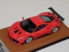 1/43 Looksmart Ferrari 488 Challenge Rosso Corsa Red - leather Base LS476B
