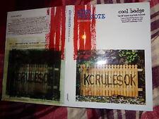 RARE CD ALBUM SAMPLER King Creosote KC RULES OK Cool Badge Music DVD BOOK 678 +