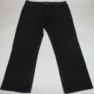 Old Navy Jeans 40x30 (43x30) Men's Loose Fit Straight Leg Casual Black Denim