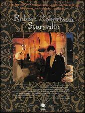 The Band's Robbie Robertson 1991 Storyville album advertisement 8 x 11 ad print