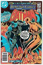 DETECTIVE COMICS STARRING BATMAN #497 VS. MANIKIN DC COMICS BRONZE AGE 1981 VF+