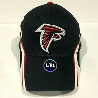 ATLANTA FALCONS NFL Team Apparel Structured Flex Cap Hat Large/XLarge L/XL NEW!