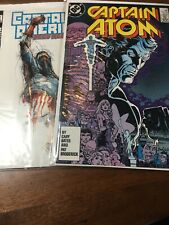 DC Marvel Comic Book Lot 2002 And 1983 Star Wars Captian America Atom