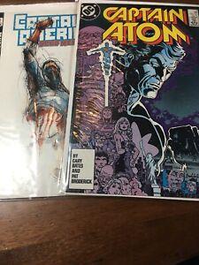 DC Marvel Comic Book Lot 2002 And 1983 Star Wars Captian America Atom