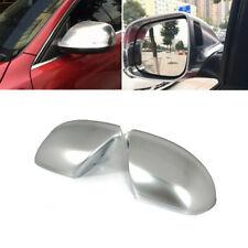2PCS Chrome ABS Rearview Side Mirror Shell Cover Cap Wing For Audi Q5 Q7 09-15