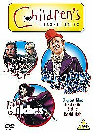 the witches /willy wonka/danny (2010)b/n sealed