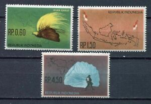 38178) Indonesia 1963 MNH Irian Barat 3v