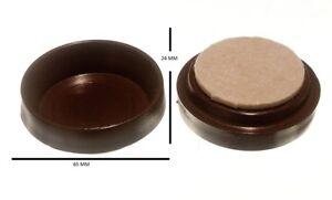 Roulette Tasses Meuble Protection Sol Glissement Et Feutre Patin 60mm Paquet 24