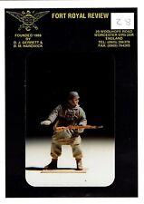 FORT ROYAL REVIEW n°28 - GERMAN SOLDIER WWII - 54mm WHITE METAL RARO