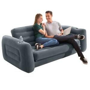 INTEX Sofa Lounge Couch Ausziehbar Luftbett Gästebett Bett Schlafsofa B-Ware