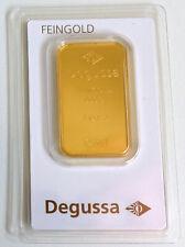53128651 - 1 oz. Goldbarren Feingold 999,9 Degussa