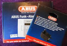 NEU Abus Funk-Alarmanlage FU9010 + Netzteil FU9095 + Akku Privest Alarmzentrale