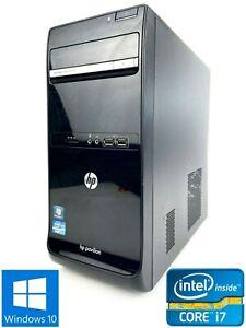 HP p6-2065uk MT - 500GB HDD, Intel Core i7-2600, 8GB RAM - Win 10 Home