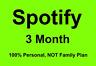 Spotify Premium 3 M0nths