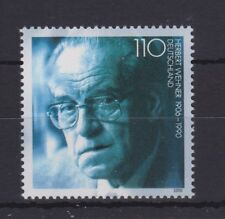 WEST GERMANY MNH STAMP DEUTSCHE BUNDESPOST 2000 HERBERT WEHNER SG 2941