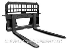 New 48 Pallet Forks Amp Frame Attachment Skid Steer Loader Tractor 4000 Capacity