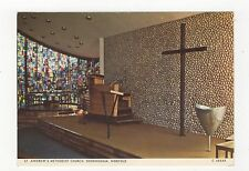 St Andrews Methodist Church Sheringham Postcard 352a