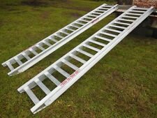 5T Capacity Excavator Loading Ramps 3.6 Metres x 400mm track width