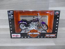 1//18 Maisto Harley Davidson 1962 FLH  DUO GLIDE CochesAescala
