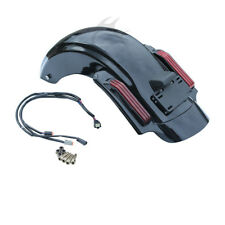 Motorcycle Accessories & Parts Gentle Tcmt Black Rear Fender System For Harley Touring Cvo Ultra Classic Road King Electra Glide Flhr Flht Flhx 2009-2013